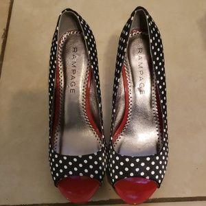 Rampage Women's Heels Size 8M